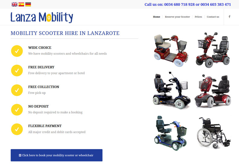 Lanzarote Mobility Scooters